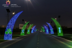 Street Light Decoration